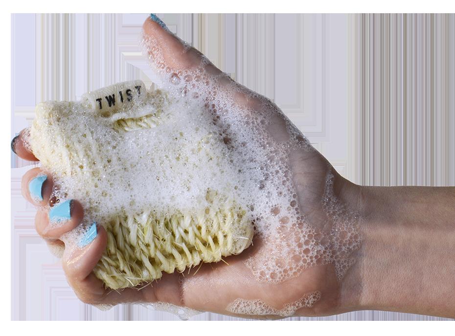Soapy Twist Clean Dish Dumpling
