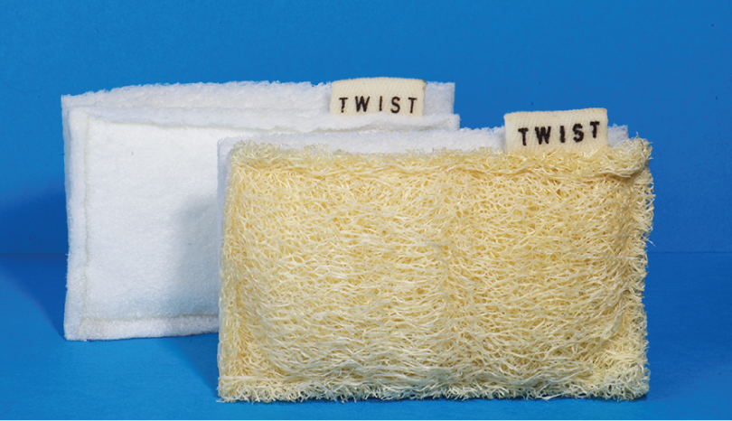 twist clean sponges